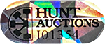Hunt Auctions Authentication