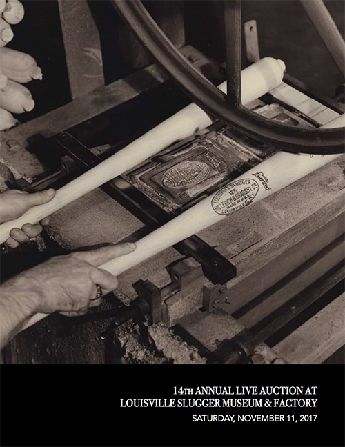 Live Auction at Louisville Slugger Museum & Factory